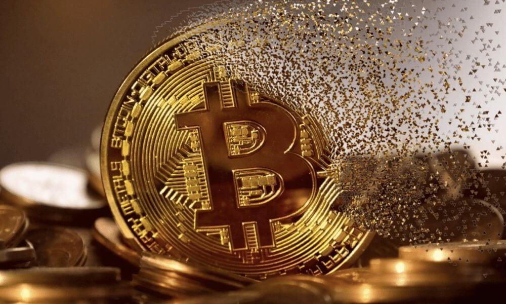 Symbolisches Bild eines Bitcoin