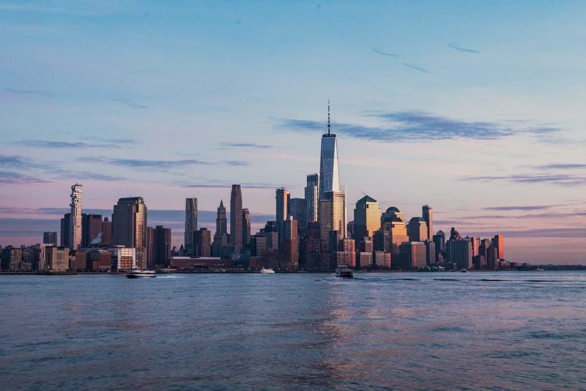 Skyline von New York - die Börsen-Hausse wird angetrieben