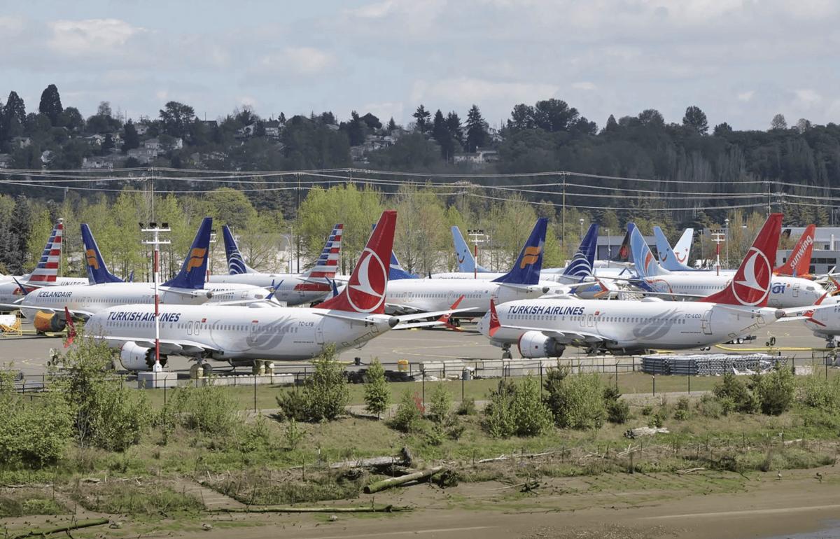 Boeing-Stillstand bremst US-BIP aus