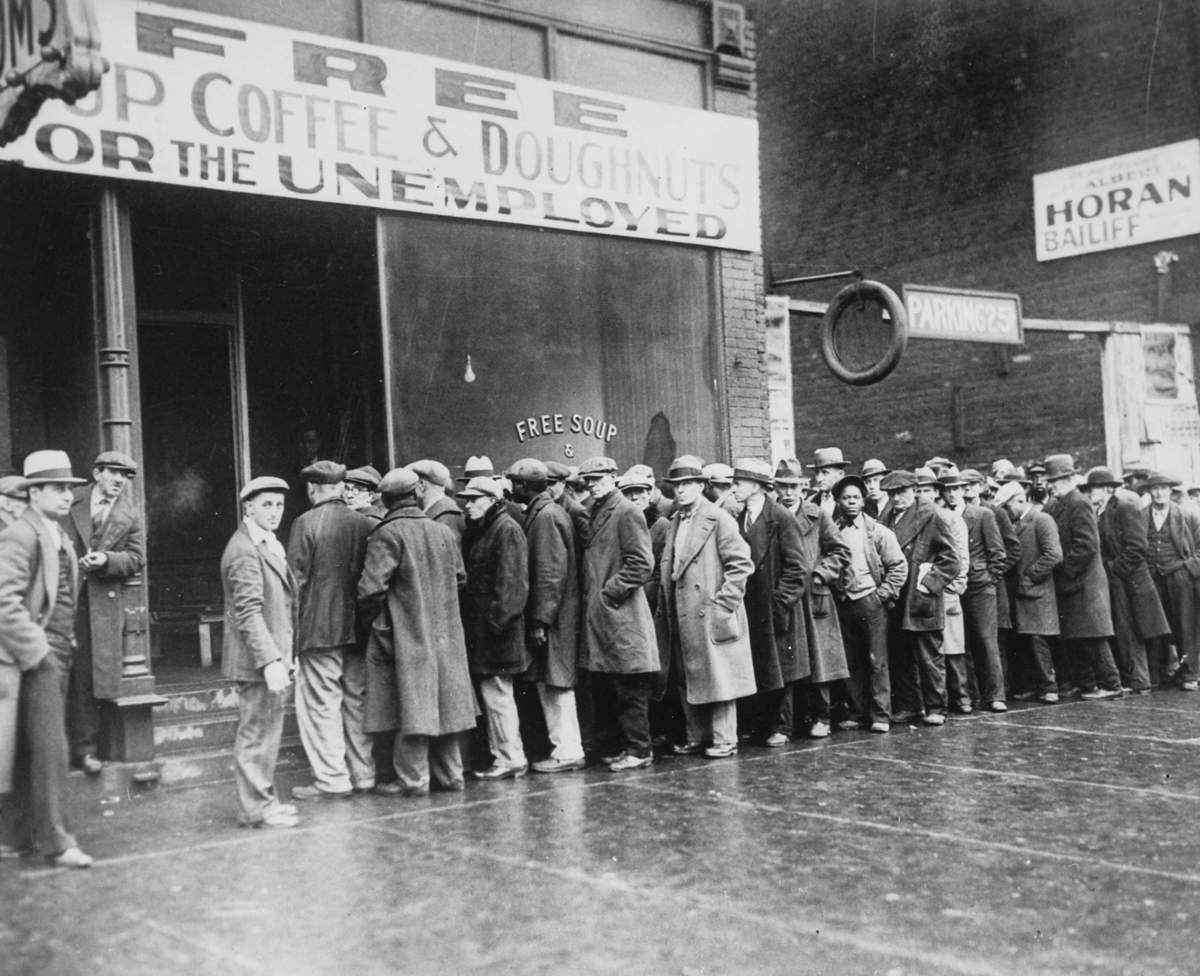 Beispielbild für die Weltwirtschaftskrise