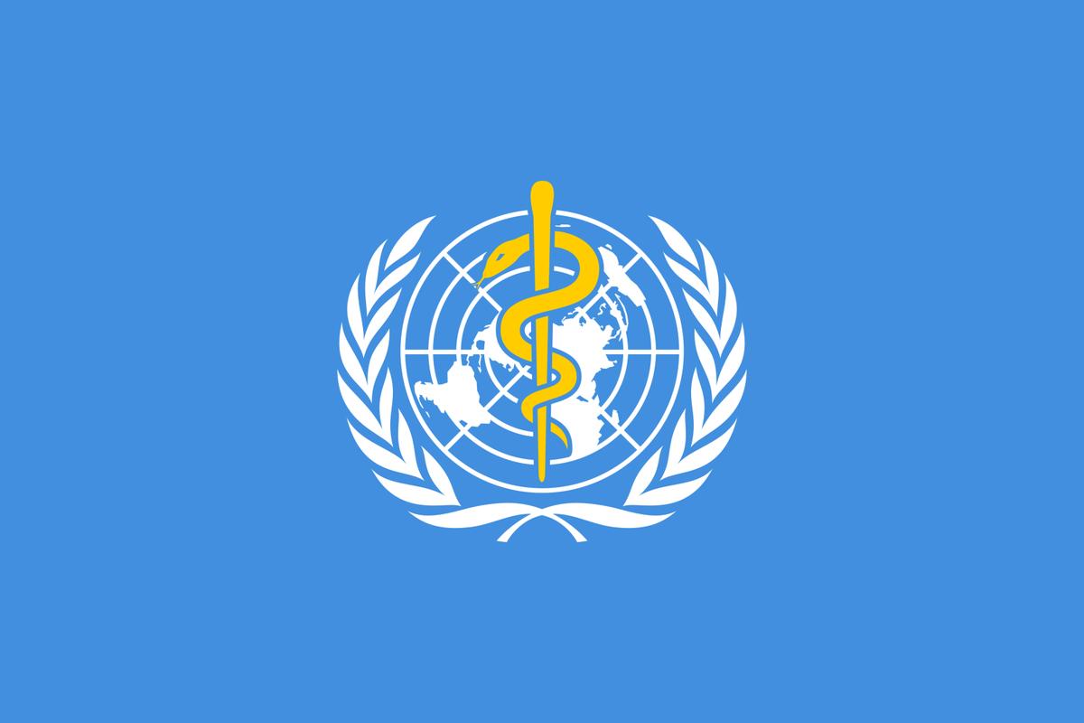 Das Logo der Weltgesundheitsorganisation WHO - Info zum Corona-Virus