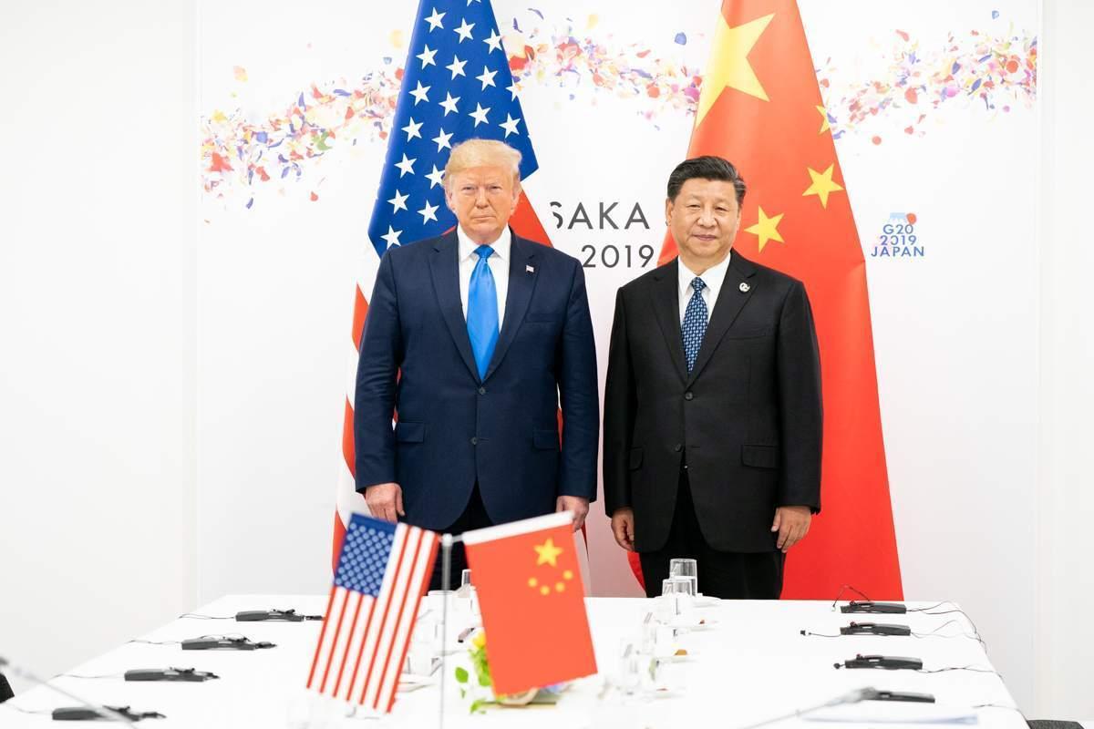 China-Deal - Xi Jinping und Donald Trump bei einem früheren Treffen