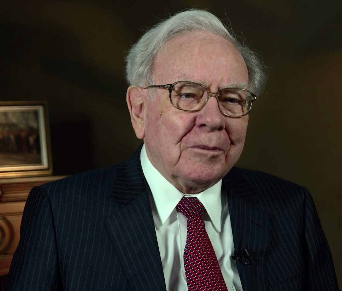 Berkshire Hathaway-Chef Warren Buffett