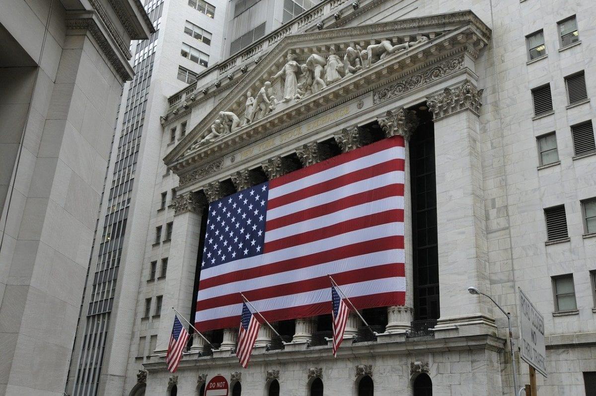 Die New Yorker Börse als Symbol der Aktienmärkte in den USA