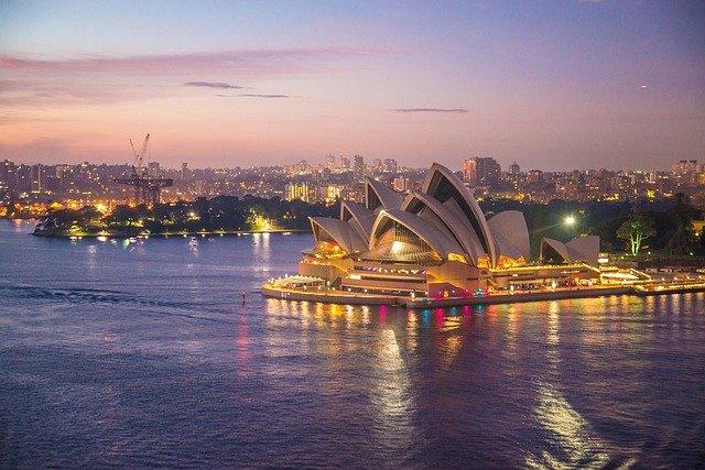 Die Oper in Sydney - eines der Symbole für Australien