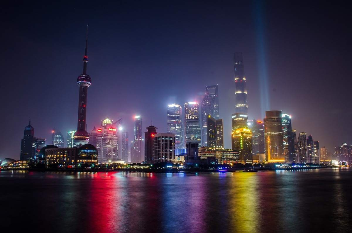 Shanghai ist in China das Finanzzentrum