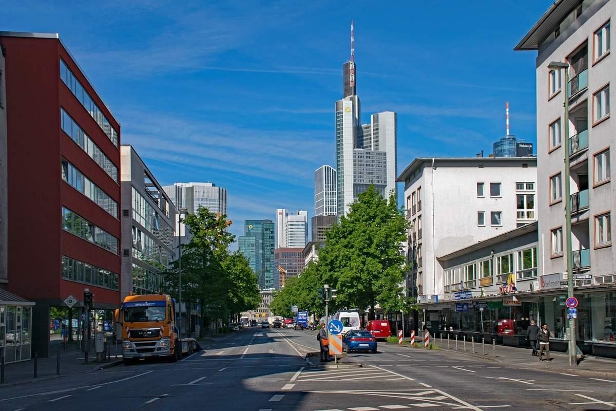 Commerzbank Tower in Frankfurt