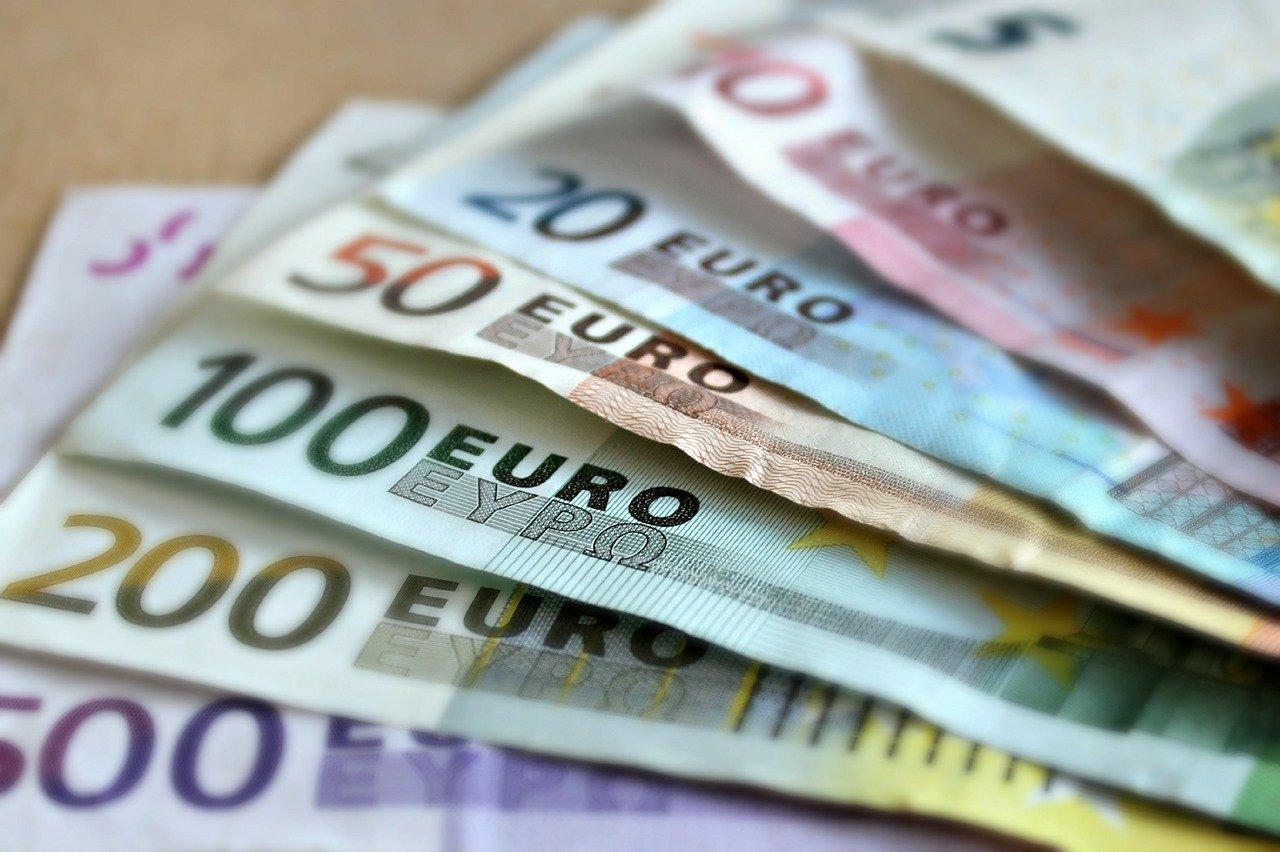 Beispielfoto für Euro Geldscheine