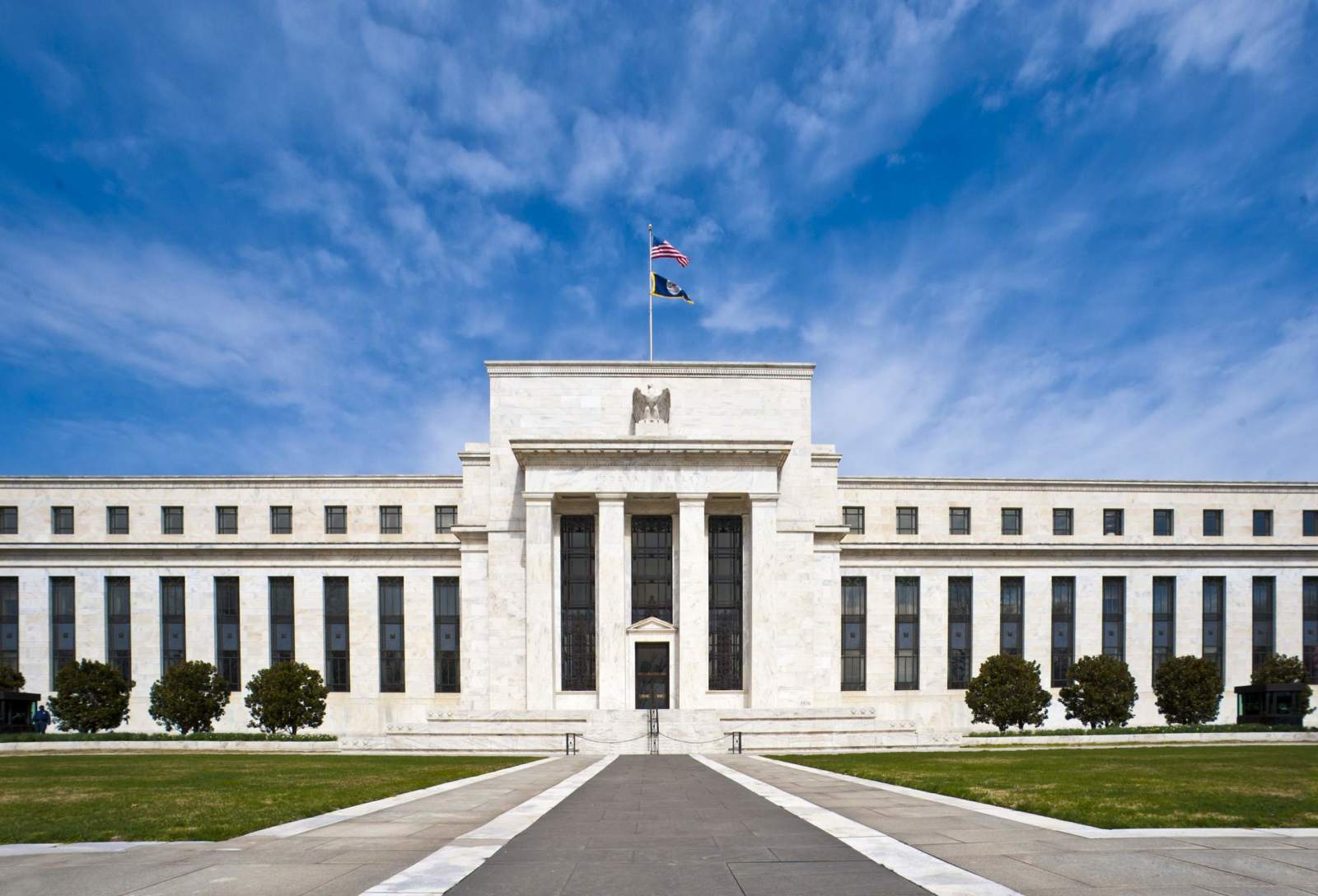 Federal Reserve in Washington DC - Zinssenkung voraus?