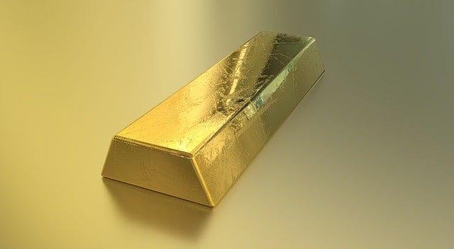 Beispielfoto für einen Barren Gold