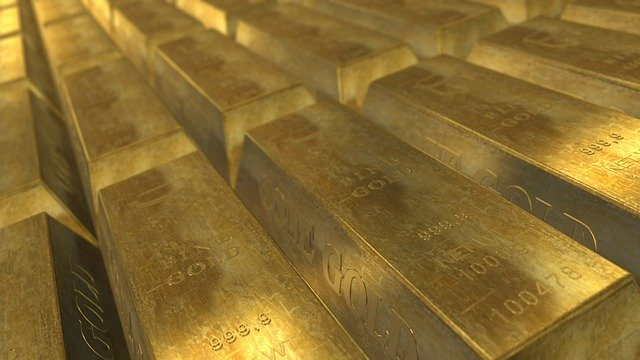 Gold Barren Beispielfofo