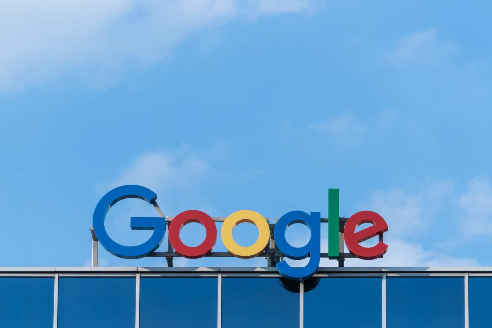 Logo der Alphabet-Tochter Google