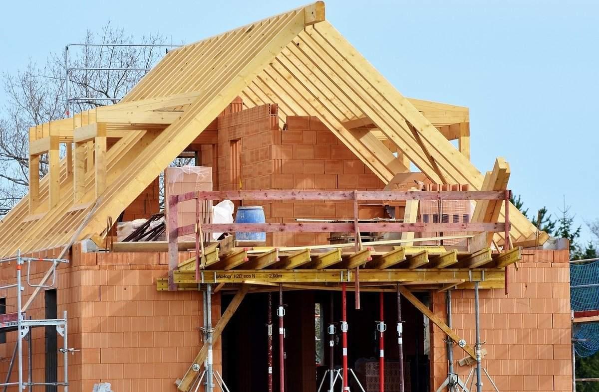 Nachlassender Preisboom bei Immobilien? Beispielfoto für Hausbau