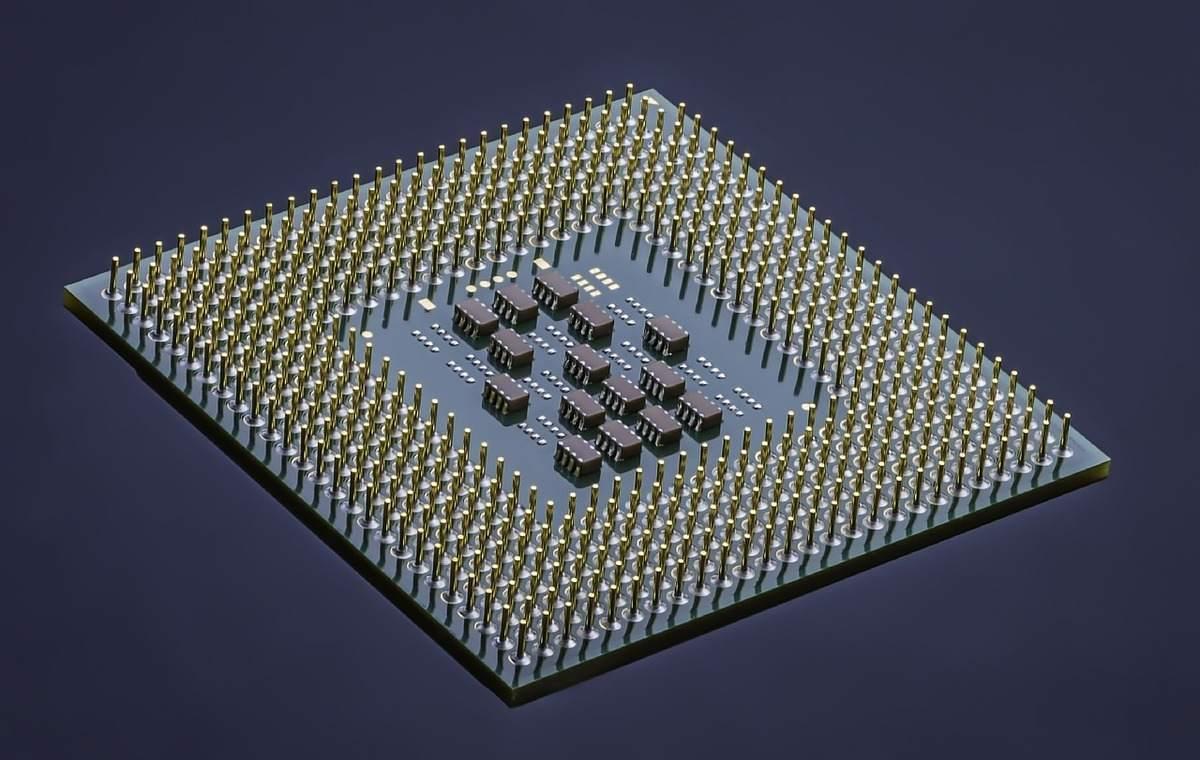 Beispielbild für eine integrierte Schaltung - Intel hat Probleme