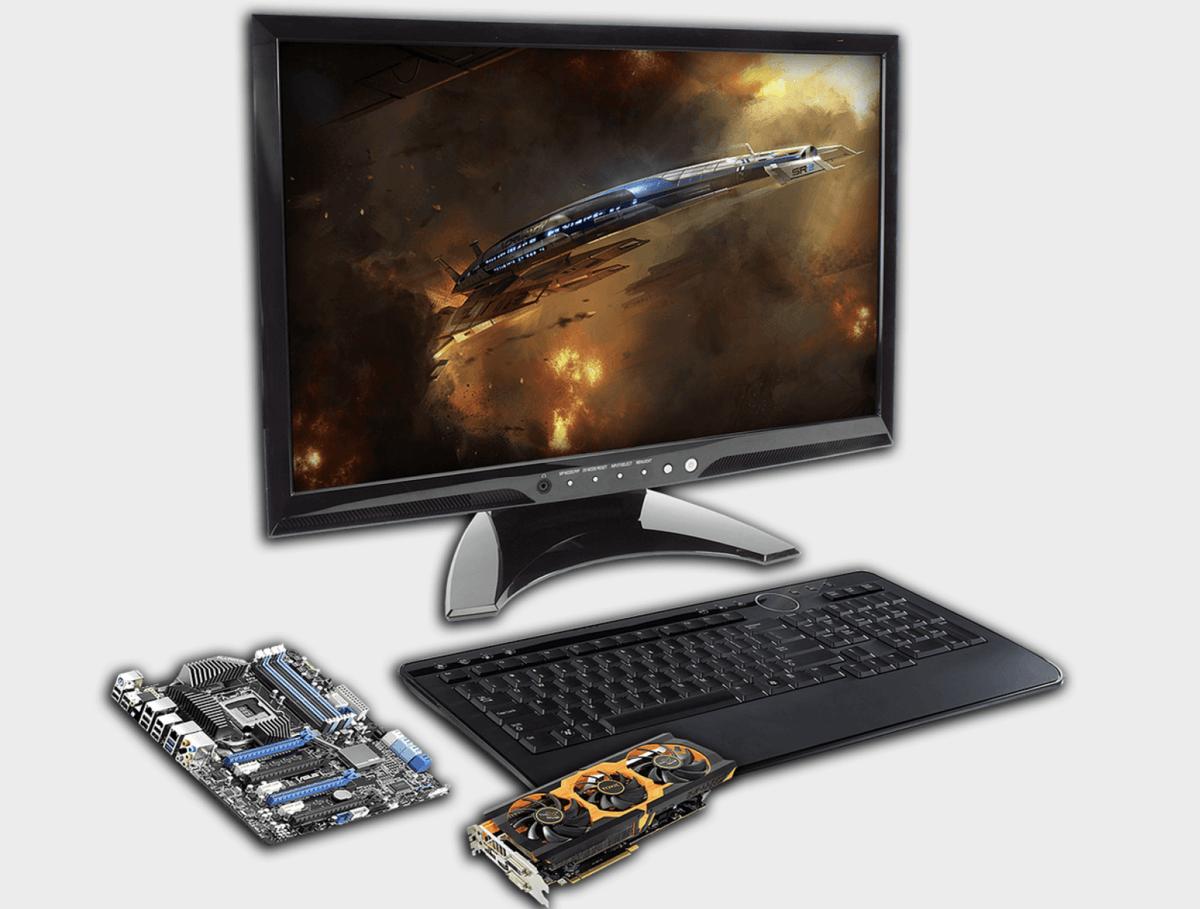 PC und Grafikkarte Beispielbild - Probleme bei Nvidia?