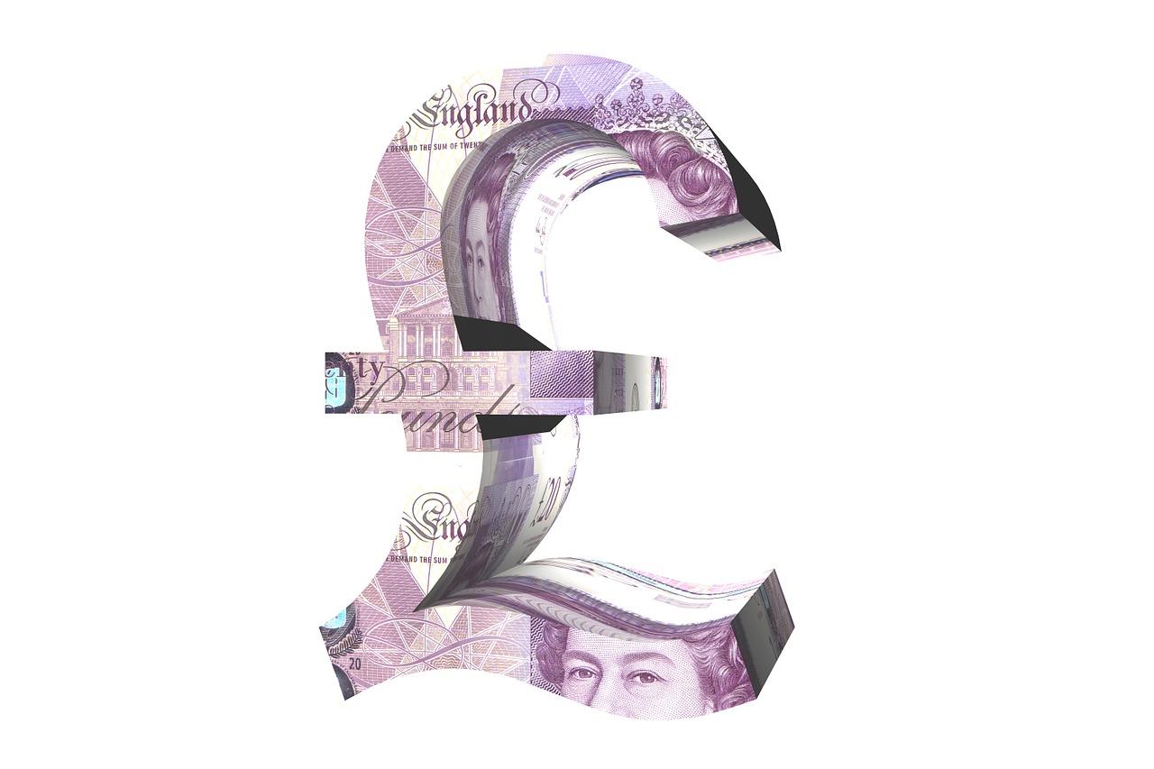 Britisches Pfund Symbolfoto