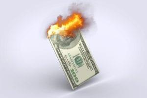 Der Euro steigt massiv zum US-Dollar, weil die Fed die Zinsen deutlich senken muß