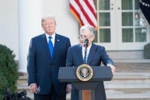 Trump twittert erneut gegen die Fed und Fed-Chef Powell