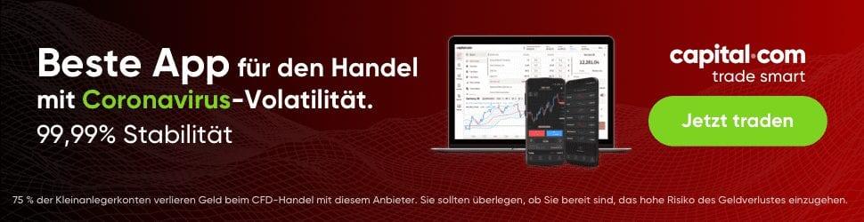 Beste App für den Handel, capital.com