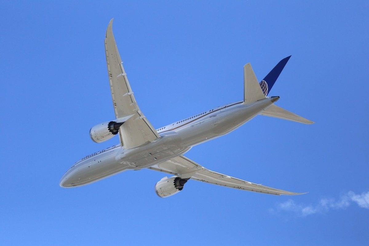 Beispielfoto einer Boeing 787