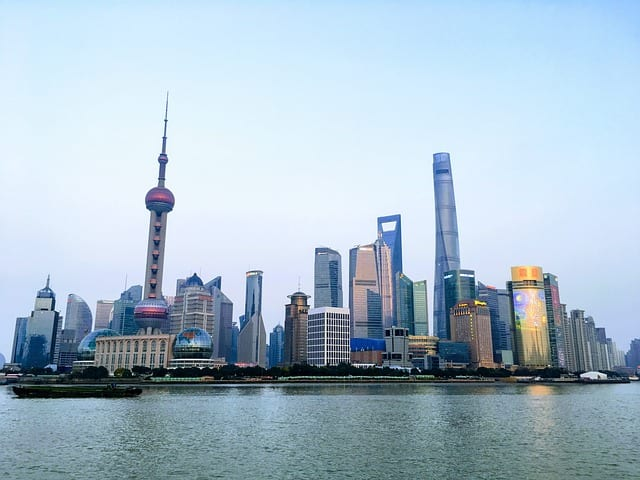 Shanghai als Finanzzentrum in China