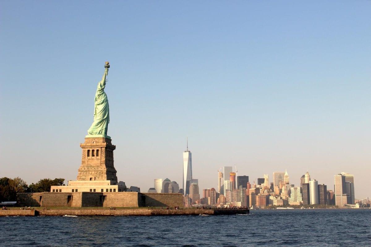 Die Skyline von New York - ein Crash am Aktienmarkt ist im Gange