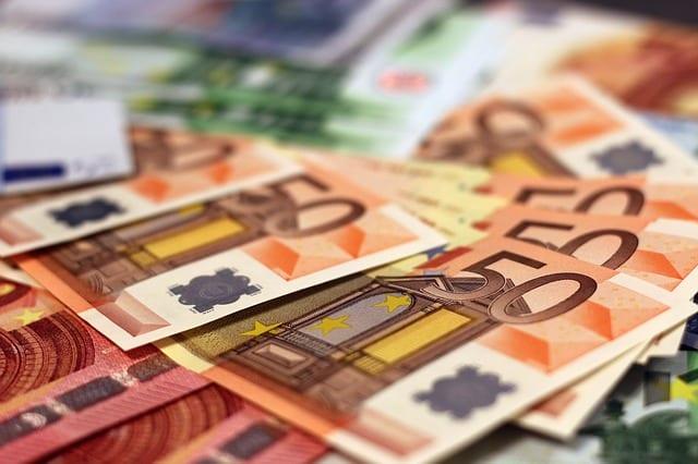 Diverse Euro Geldscheine