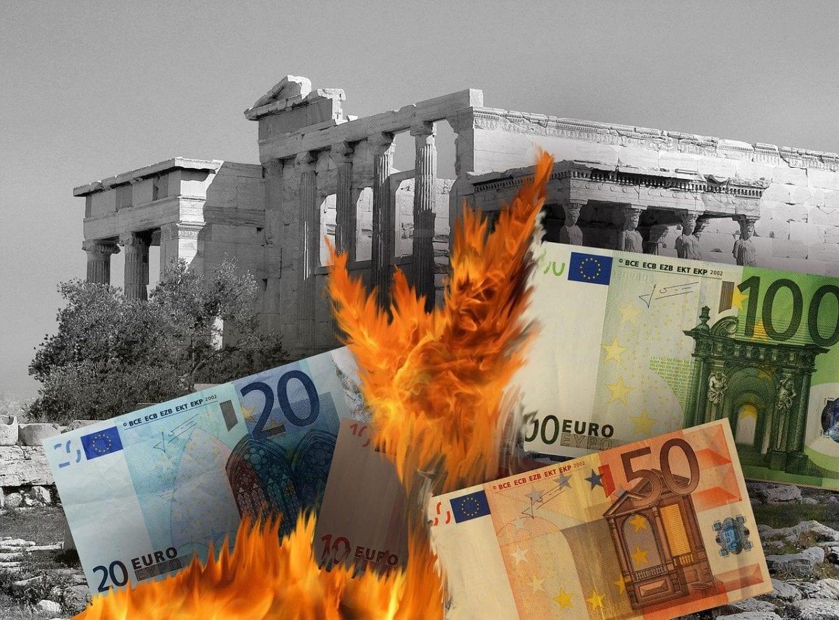 Fotomontage für die Eurokrise - kommt sie zurück?