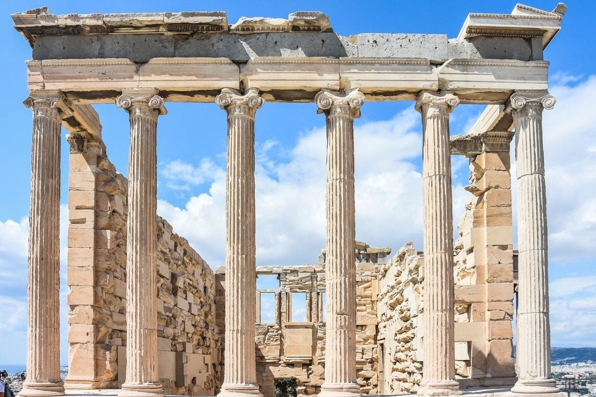 Die Akropolis in Athen - die EZB rettet sie alle