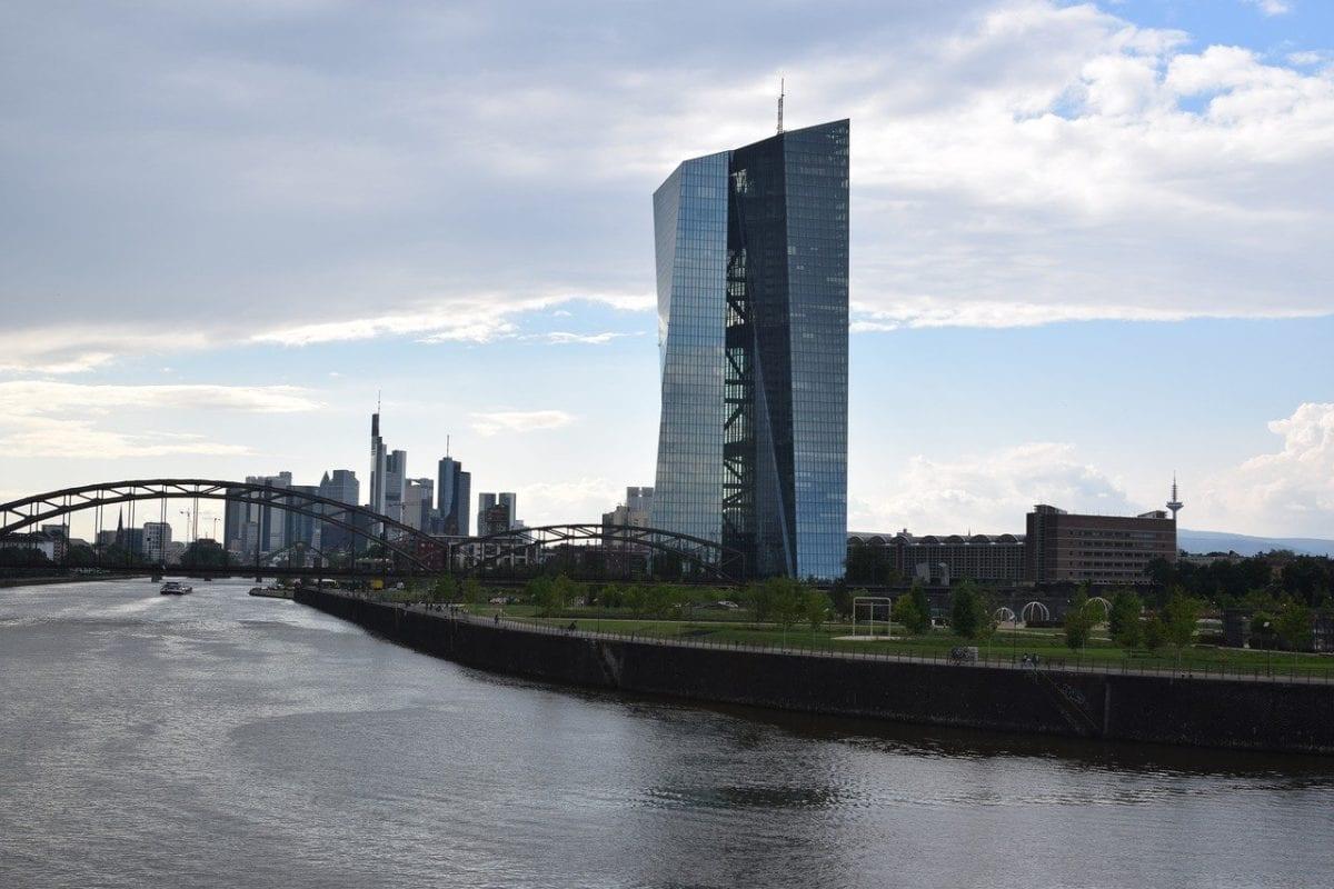 Die EZB-Zentrale in Frankfurt