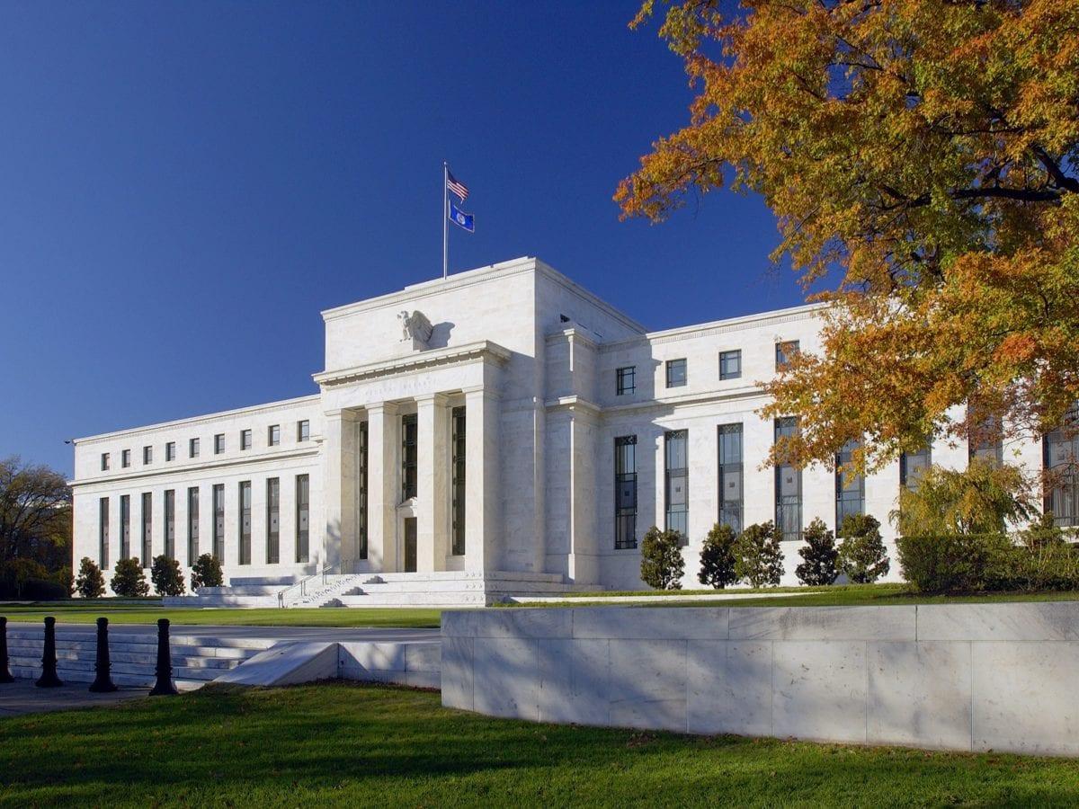 Die Zentrale der Fed in Washington DC - Zinssenkung gestern