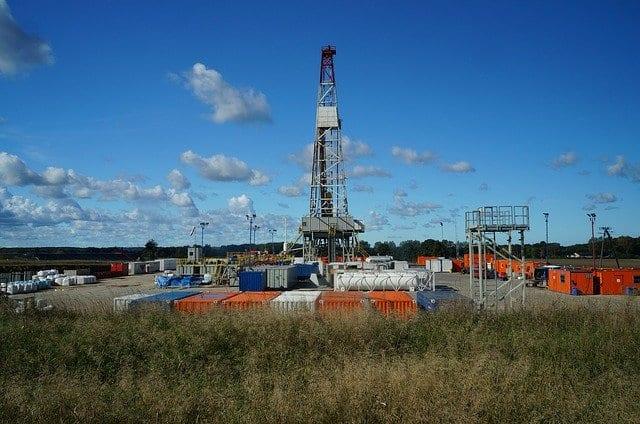 Fracking Beispielfoto