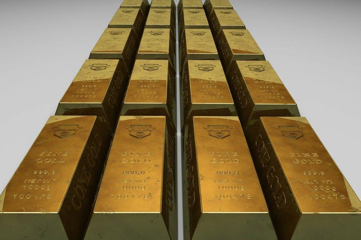 Goldbarren Beispielfoto