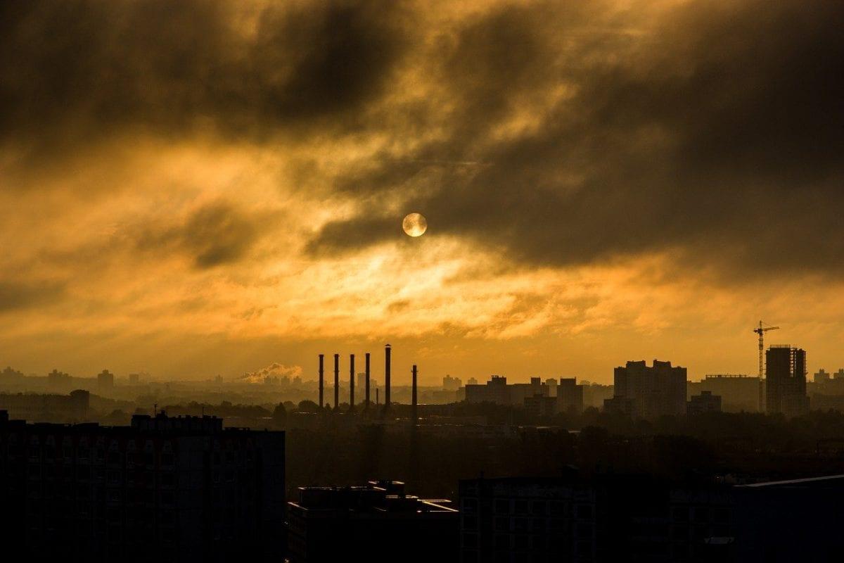 Die dunklen Wolken der Rezession für die deutsche Industrie