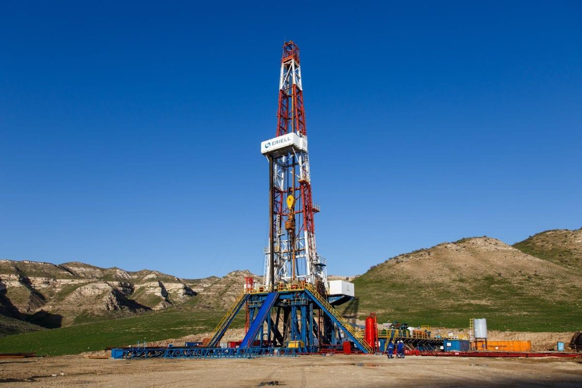 Beispielbild eines Öl-Bohrturms