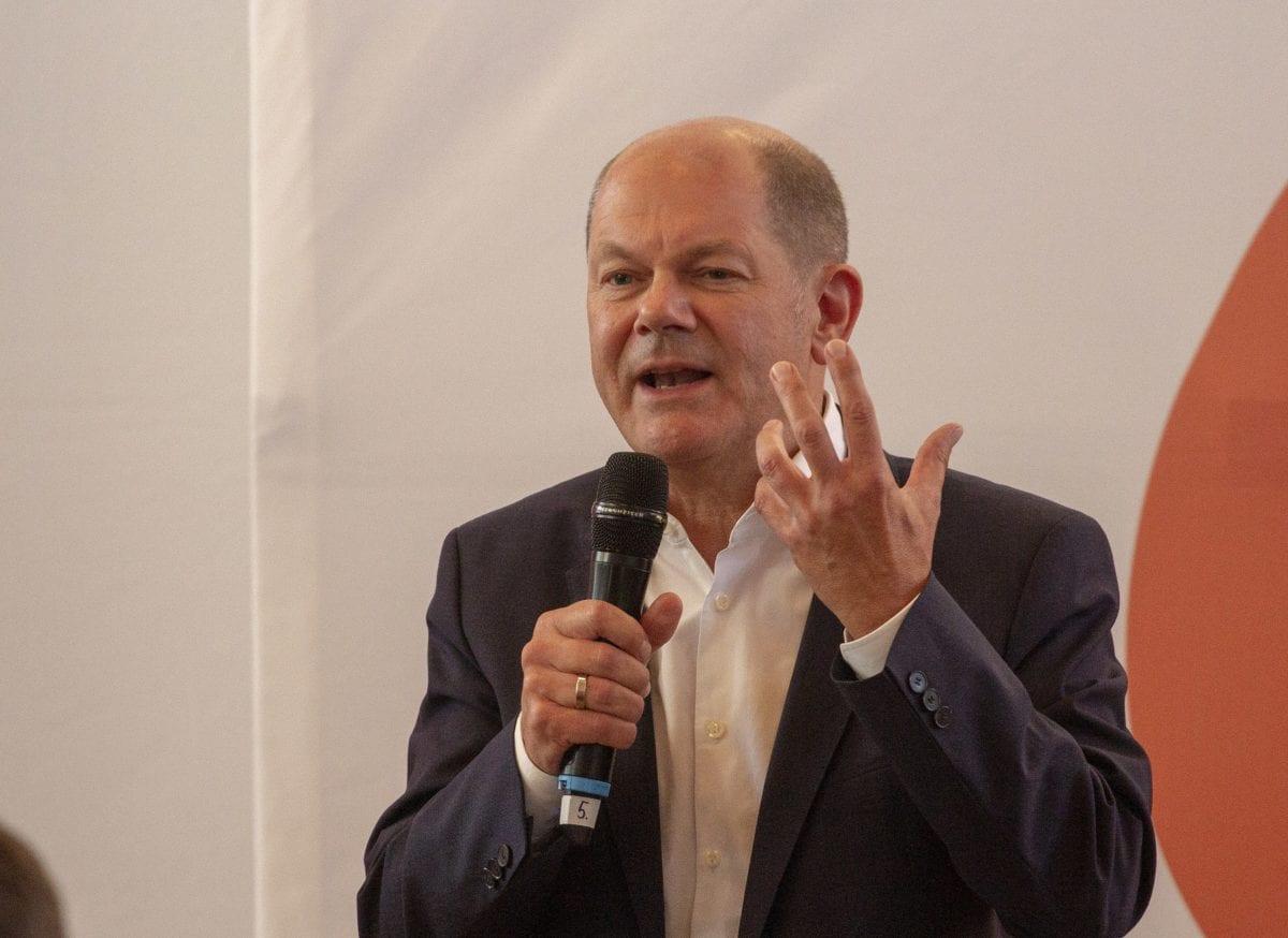 Olaf Scholz im Jahr 2019