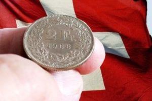 Der Euro stieg zuletzt gegenüber dem Schweizer Franken