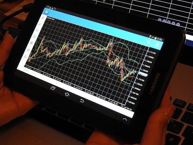 VIX zeigt die Schwankungsintensität im S&P 500 - Chart Beispielbild