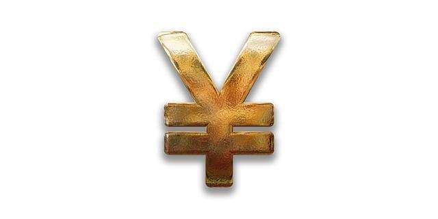 Das Symbol für den Yen