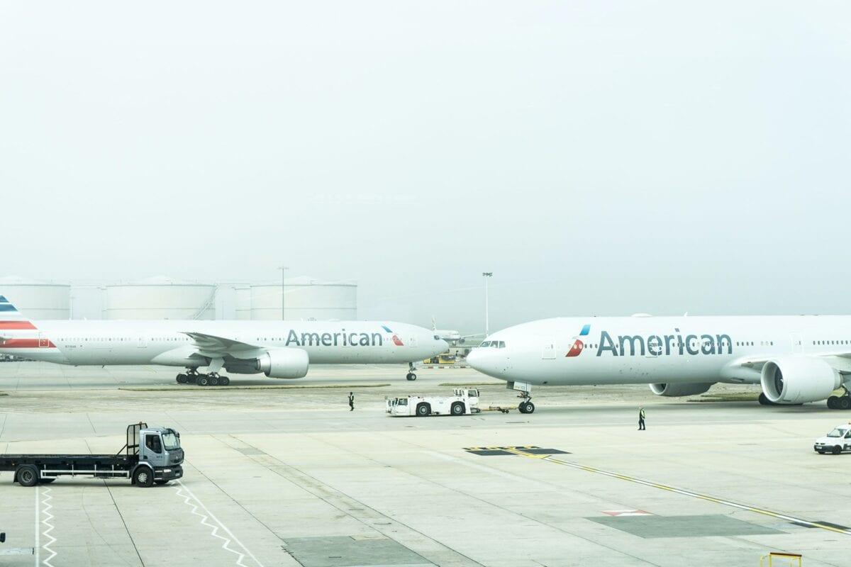 Airlines werden von US-Regierung gerettet - Beispielbild für American-Flieger