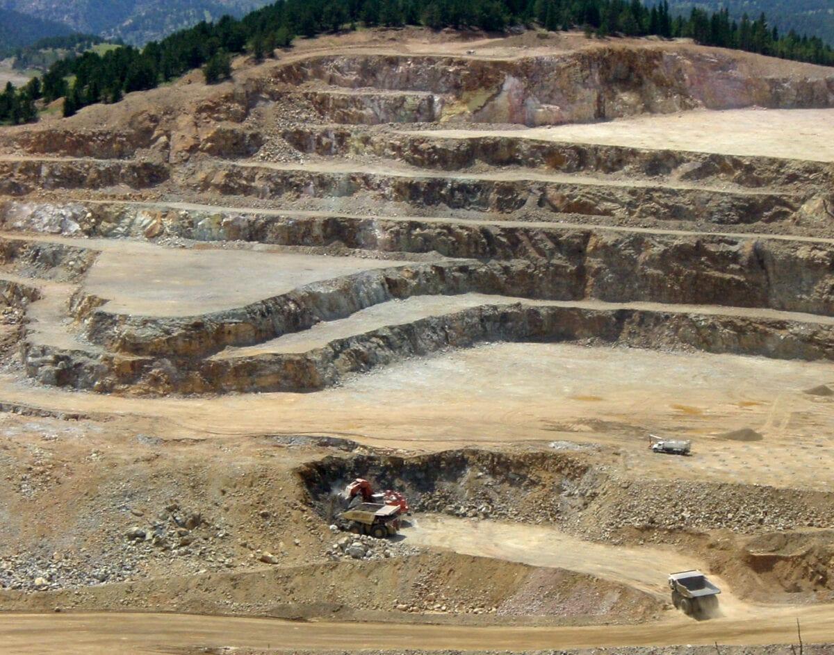 Beispielbild einer Goldmine - Barrick Gold aktuell im Fokus