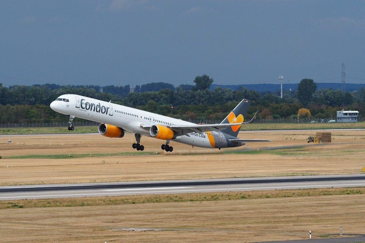 Beispielfoto für ein Flugzeug der Condor