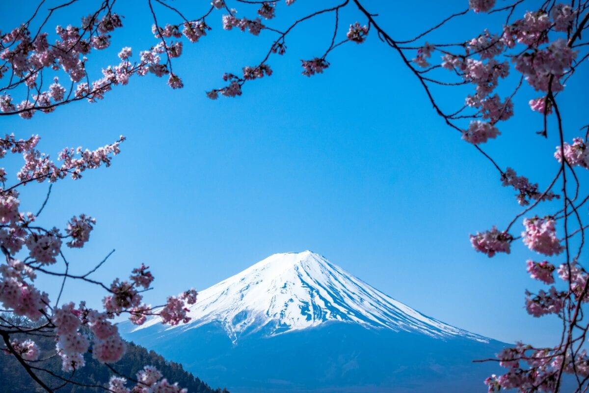 Kommt Japan durch die Coronakrise? Der Berg Fuji als Nationalsymbol