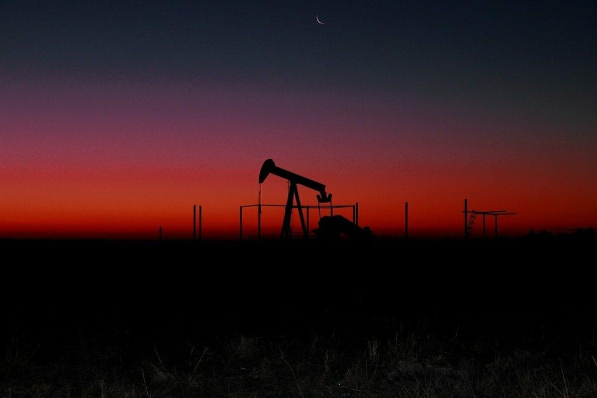 Öl-Bohrstelle