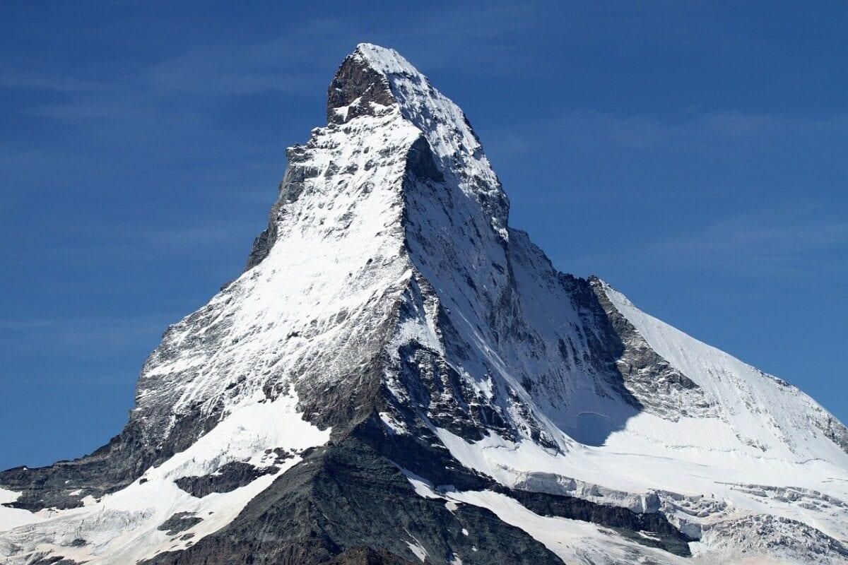 Schweizer Bergpanorama