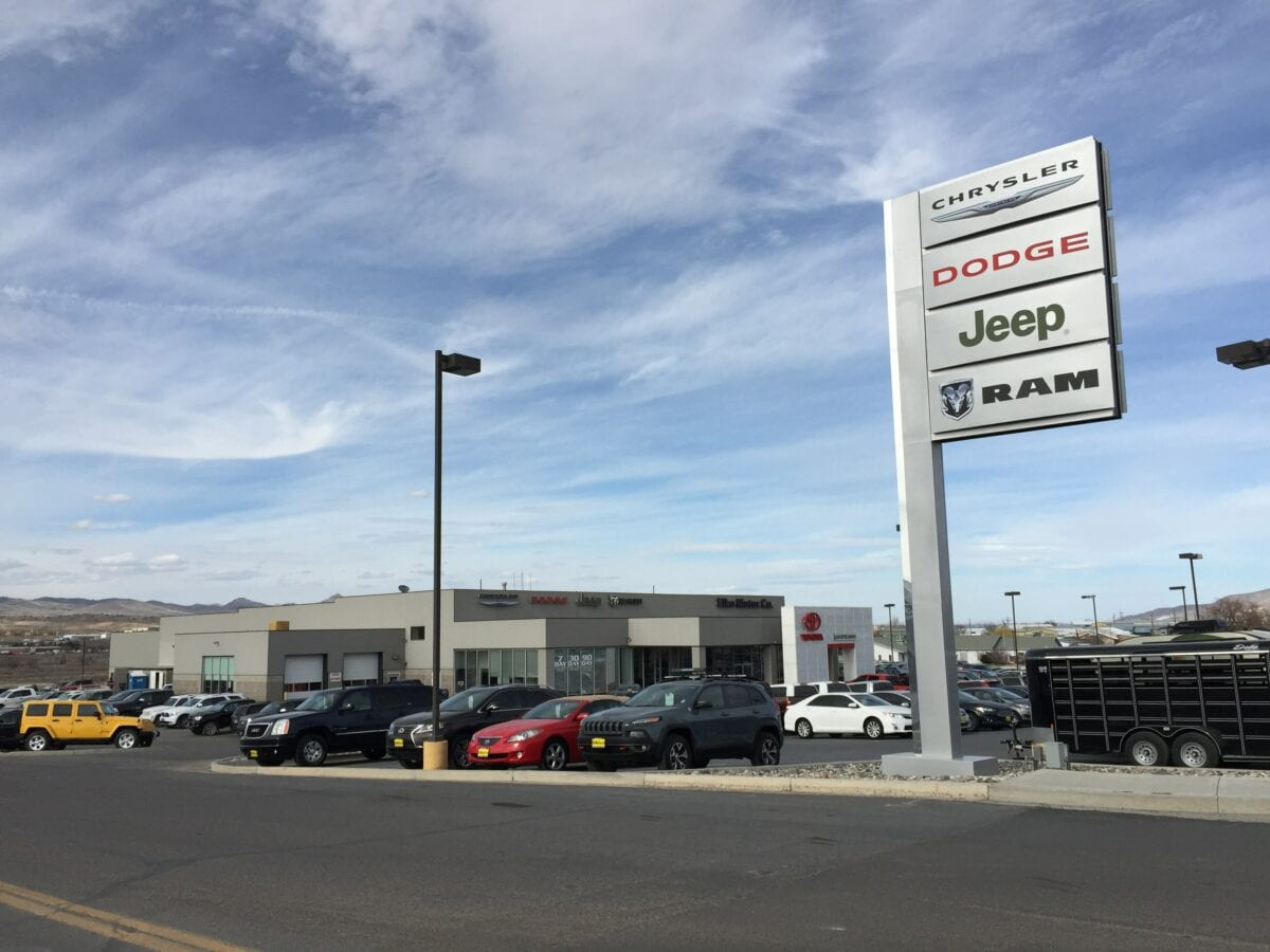 US-Autoabsatz bricht ein - Beispielbild eines Autohändlers in den USA
