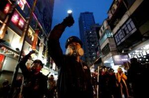 """Hongkong ist Ort des """"Stellverterterkriegs"""" im Handelskrieg zwischen den USA und China"""