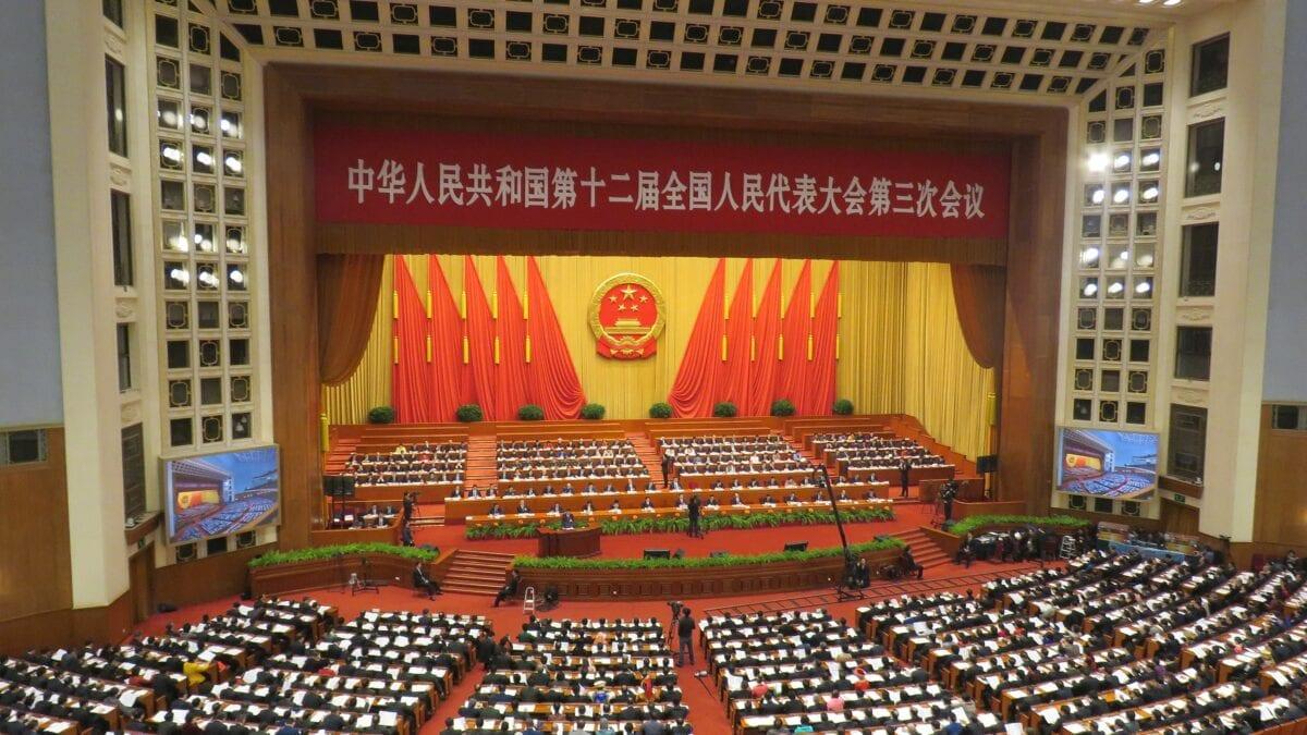 Volkskongress in China beschließt Sicherheitsgesetz für Hongkong