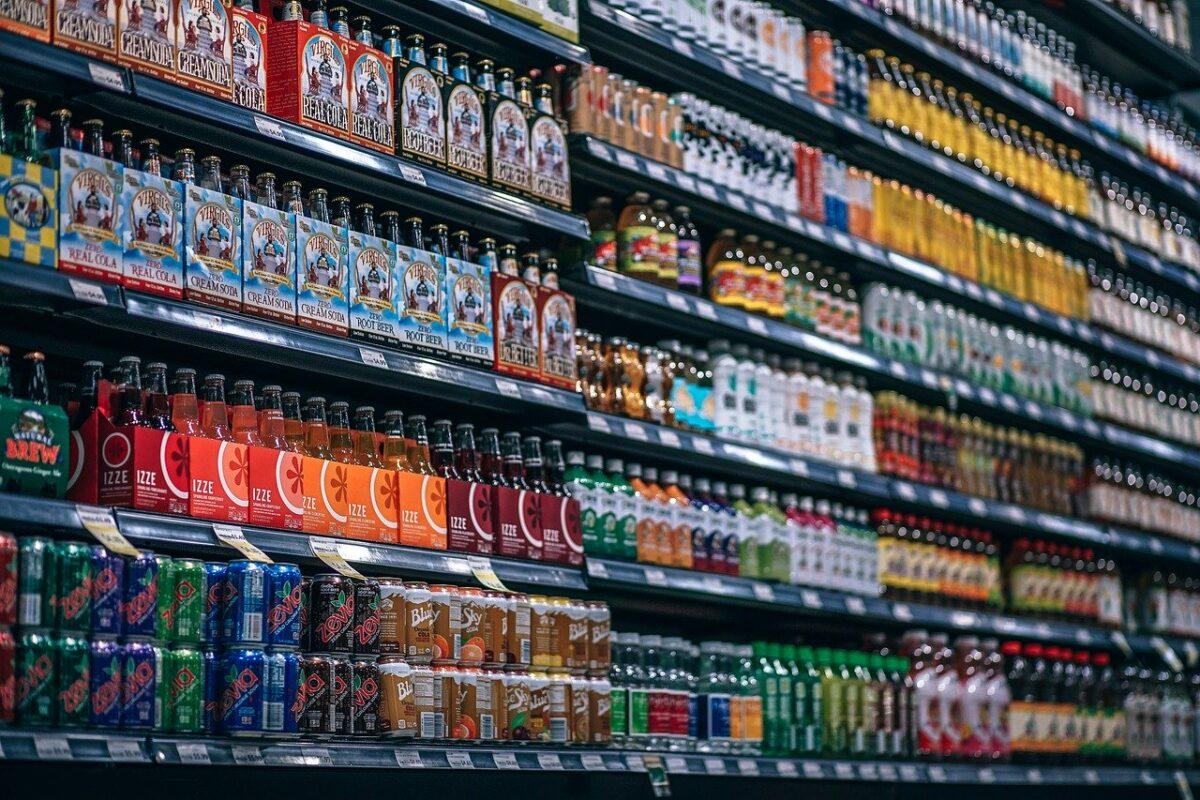 Konsum in der Coronakrise - Beispielfoto für Supermarktregal