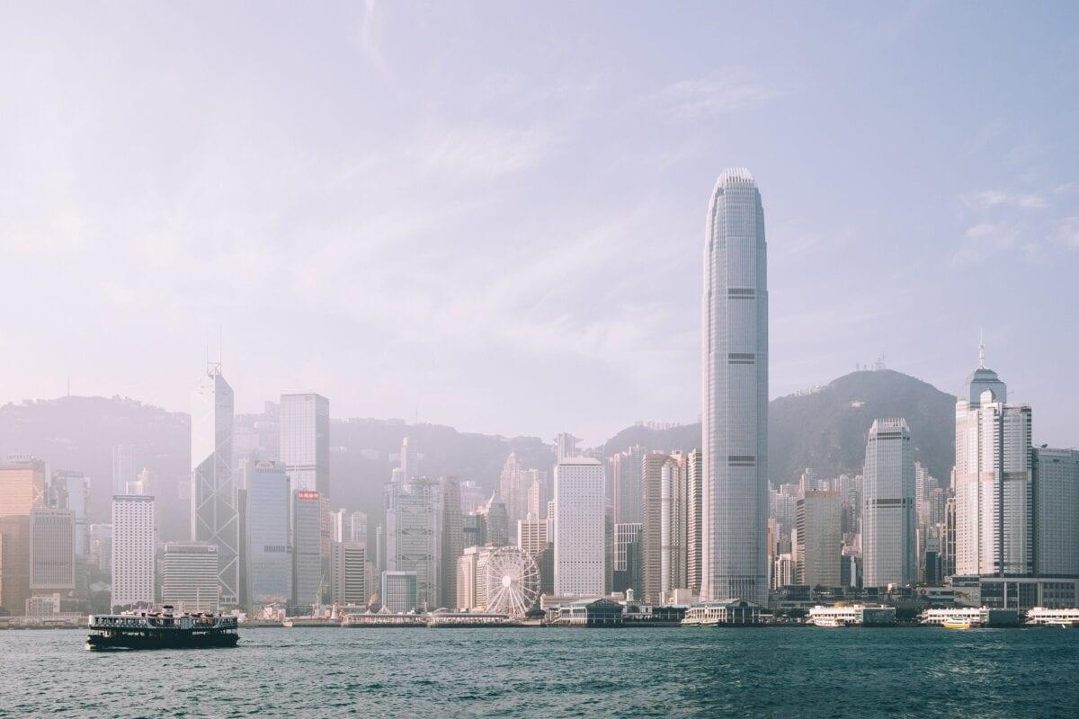 Skyline von Hongkong - das neue Sicherheitsgesetz sorgt für Unruhe